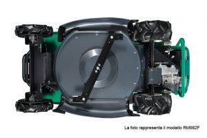 Orec rabbit trinciasarmenti professionale trattorino rider falciatutto 4wd RM982F sotto