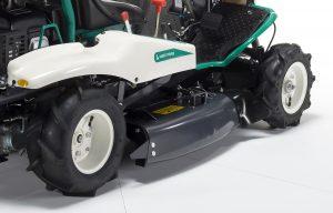 Orec rabbit trinciasarmenti professionale trattorino rider falciatutto RM83G ruote artigliate