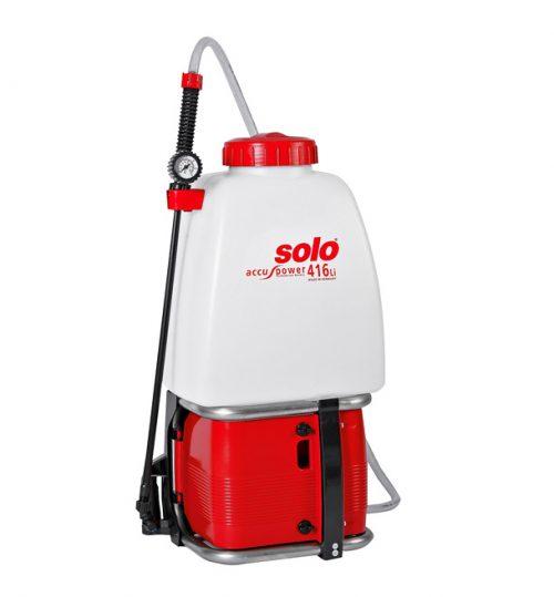 Solo pompa 416Li spruzzatore irroratore vaporizzatore nebulizzatore a batteria a spalla
