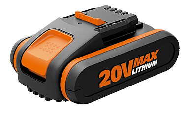 Worx_batteria_litio_20V_2ah_powershare