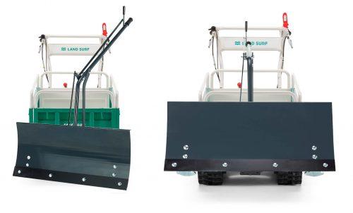 Orec-transporter-cingolato-carriola-agricola-LS360-lama-neve